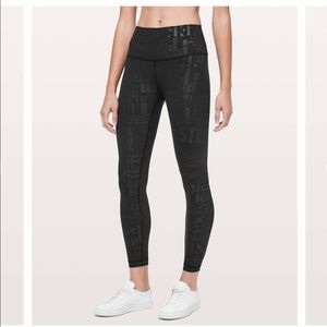 Lululemon Wunder Under HR 20th Edition